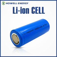UL IEC62133 Approved battery 18650 26650 / 26650 rechargeable battery / imr 26650 battery