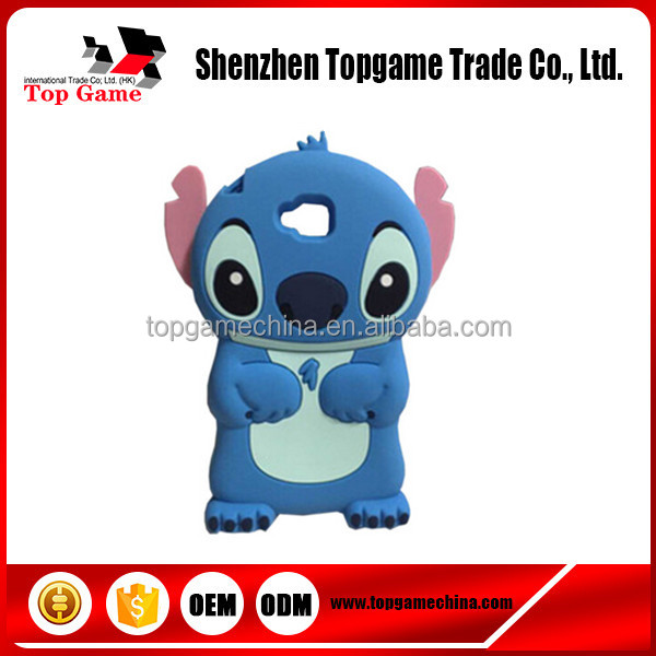 3d soft silicone cartoon stitch mobile phone case cover for LG Optimus G Pro Lite D680 D682 D685 D686