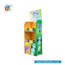 Factory Hot Sales Supermarket Wholesale Cardboard Beverage Displays Rock