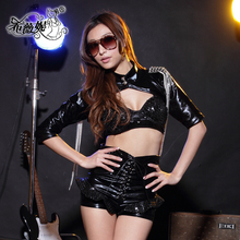 New arrivals japanese sexy latex cosplay costumes for show