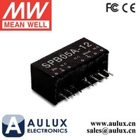 Meanwell SPB05C-12 5W DC-DC Regulated Single Output Converter vga to coax converter