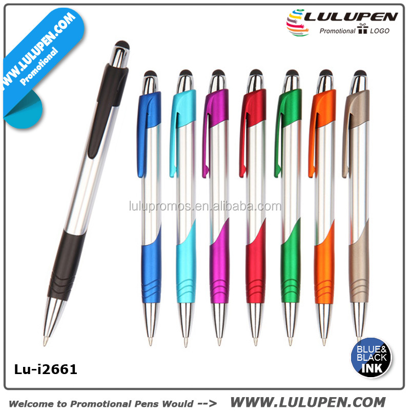 Rubber tip Stylus pen Stylus touch Pen with stylus (Lu-i2661)
