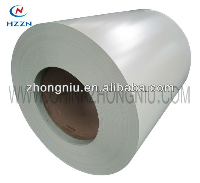 color coated steel RAL 9002