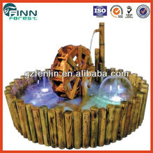 Indoor Fountain with Wooden basin for home or office use