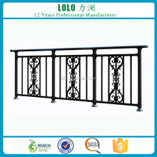 Side Mounted Cast Aluminum Metal Balcony Railing System