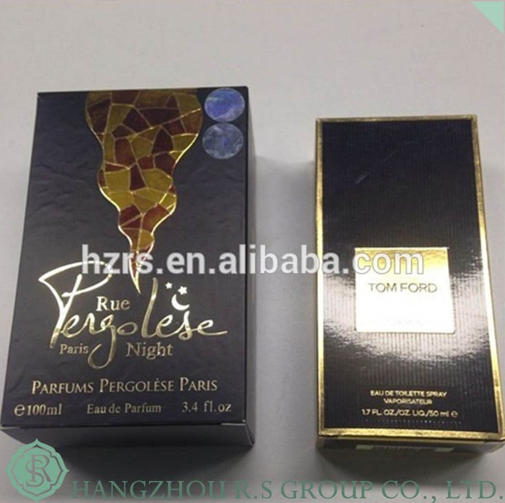 BXO001/Custom Design Printing Paper Perfume Box Packaging