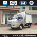 Automatic pure vehicle 1.5ton electric cargo box truck