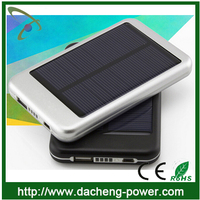 Top selling 5000 mAH portable solar charger for samsung mobile phone 5000mah solar charger