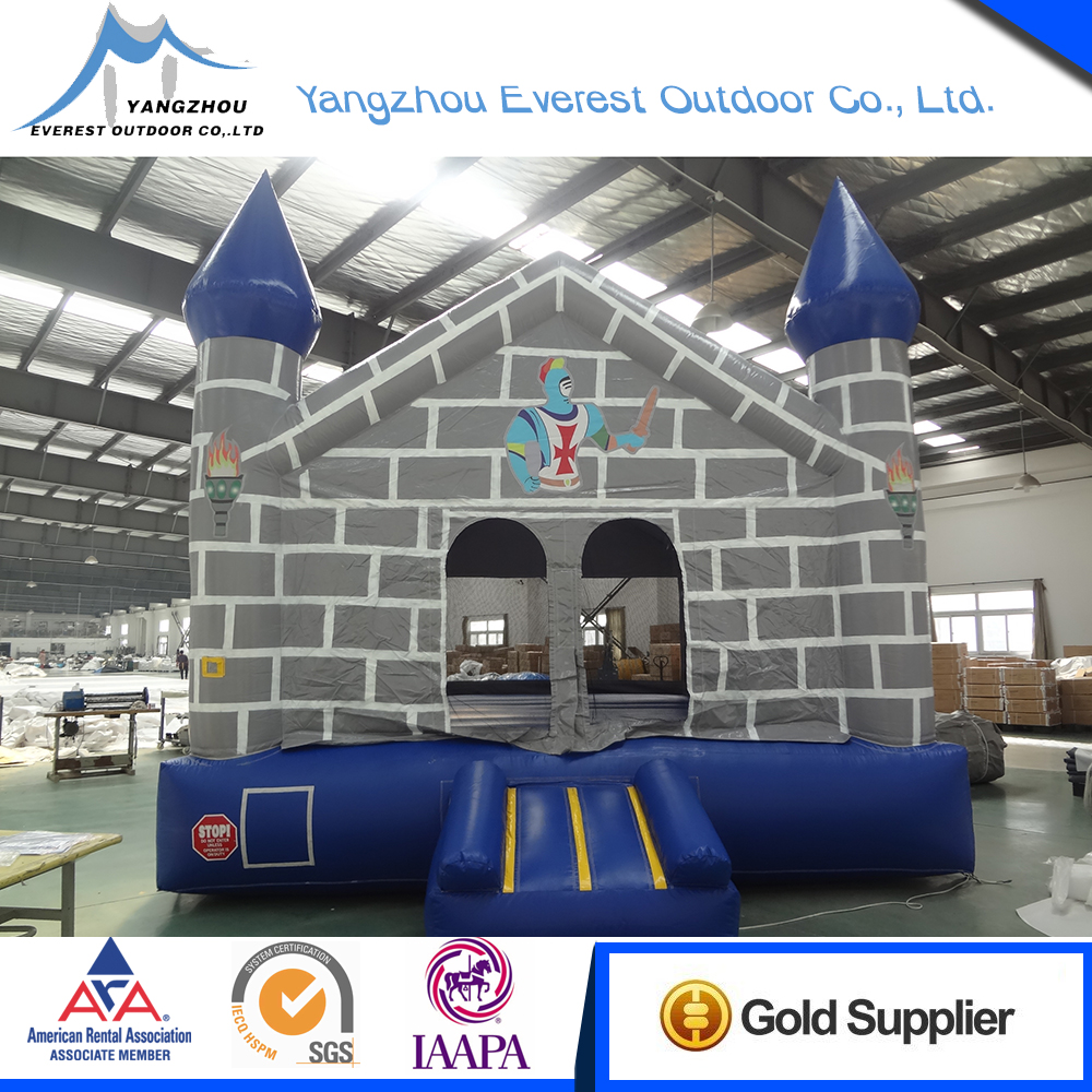 2015 new Customized commercial grade 15'x15'x15' trampoline castle