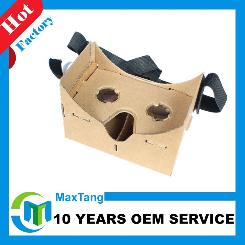 Stylish 3D Glasses Virtual Reality Video Viewer Compatible with Head Strap
