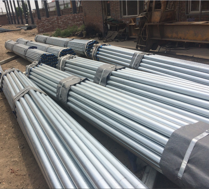 Factory Wholesale Round Section Carbon Steel Galvanized Pipe
