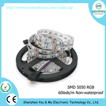 LED Strip 5050 Not Waterproof DC12V 60LEDs/m RGB Tape LED Light Home Decoration Lamps