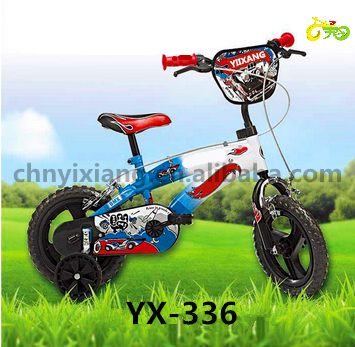 Yes Training Wheels and Steel Rim Material children bicycle for 10 years old child