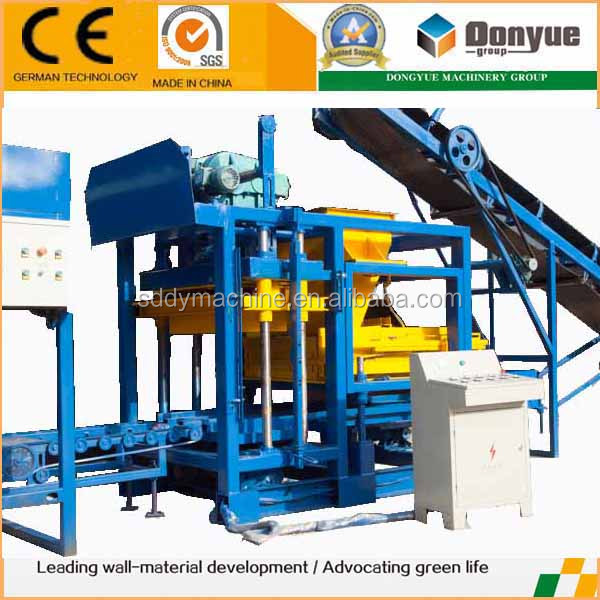 factory equipment china product semiautomatique block molding mechine price list