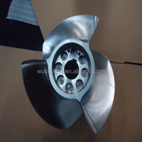 stainless steel 17-4PH Blade for sailing , custom cnc turning stainless steel parts service
