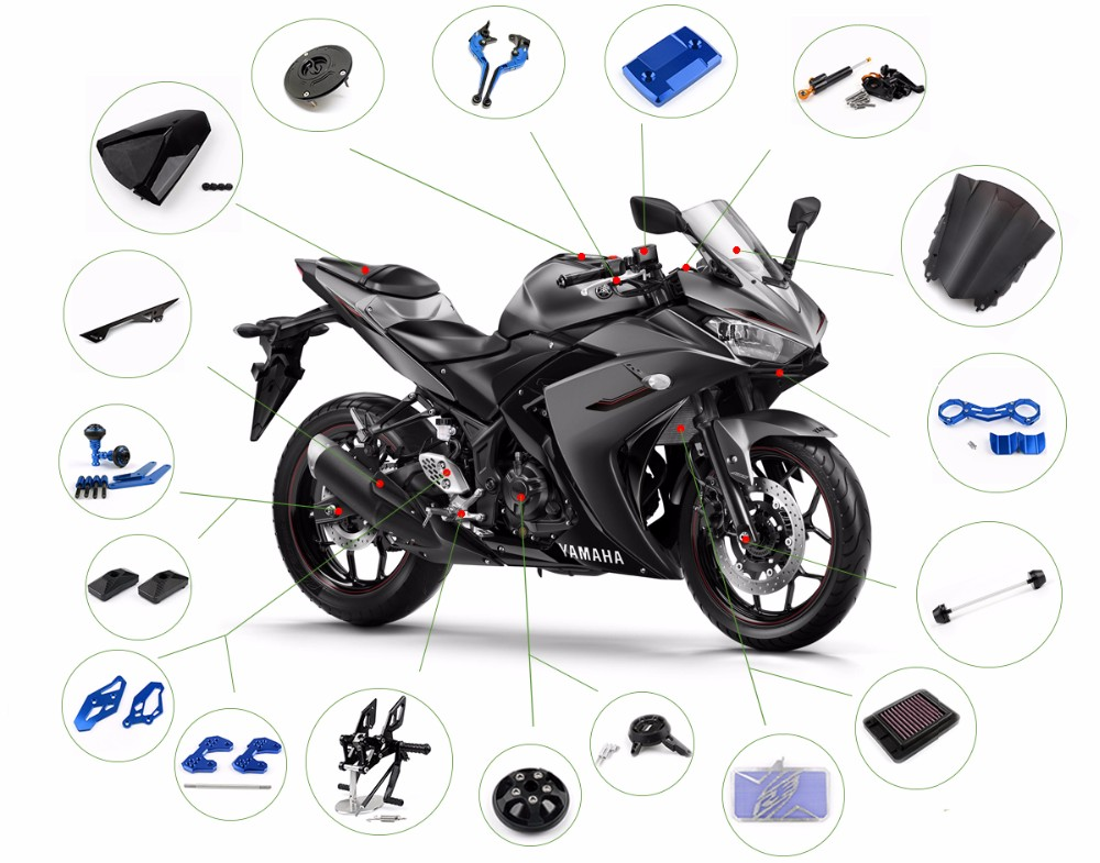 Wholesale custom motorcycle parts for harley honda yamaha for Buy yamaha motorcycle parts