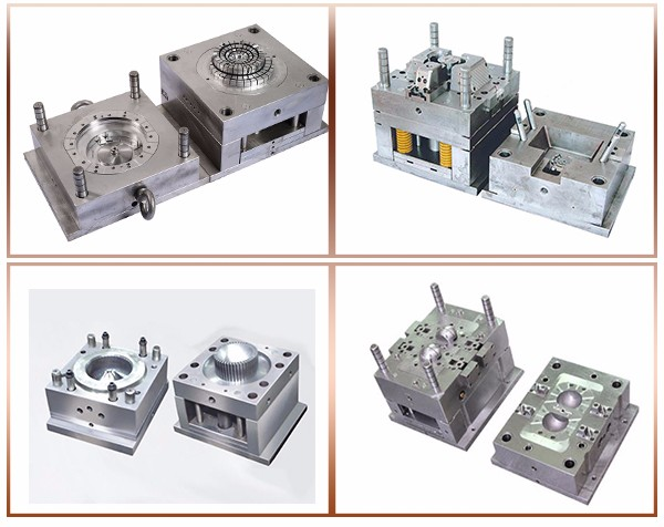 Injection mould for plastic