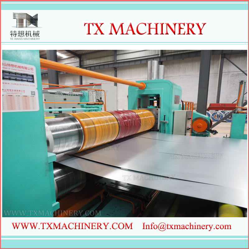 TX1600 Automatic Steel Sheet Slitting Machine
