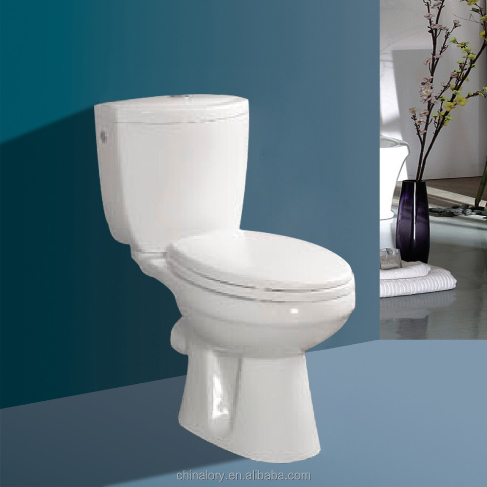 2015 Sanitary ware washdown two piece P-trap toilet For UK