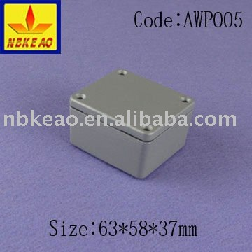 aluminium water-proof enclosure