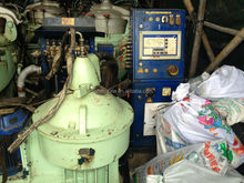 used oil purifier from scrap ship