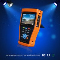New Portable 4.3'' touch screen AHD/CVI/TVI tester with digital multimeter