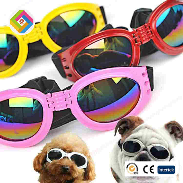 Pet glasses foldable six-color optional, <strong>dogs</strong> and cats sunglasses, sun protection goggles, wholesale