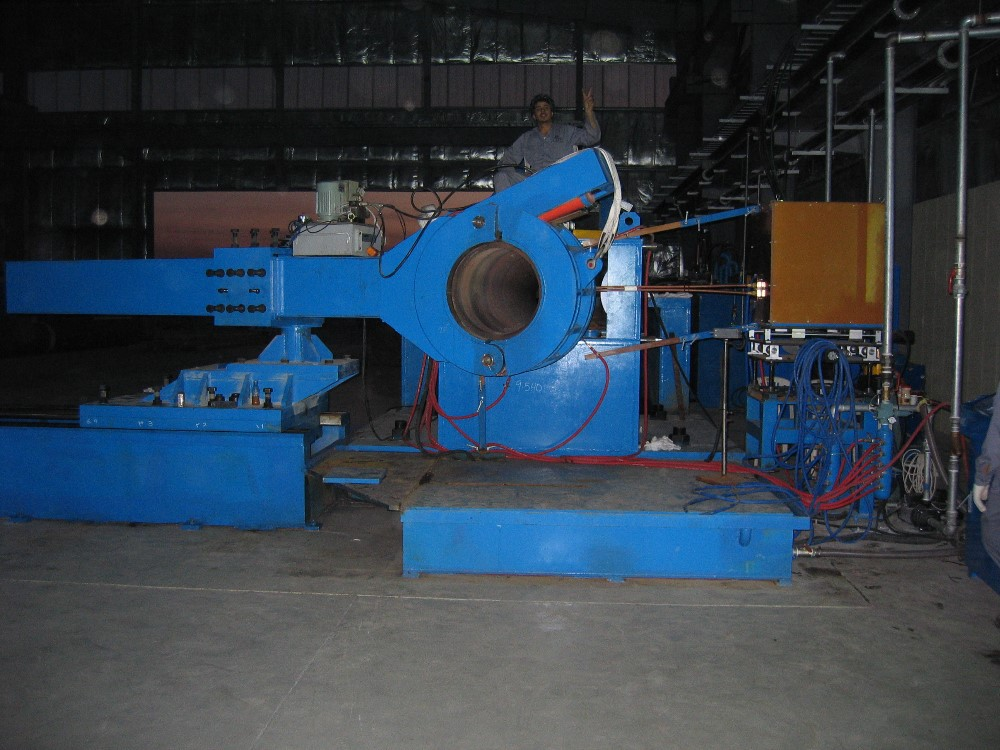 Pipe Bending Machine with Inductive Heating
