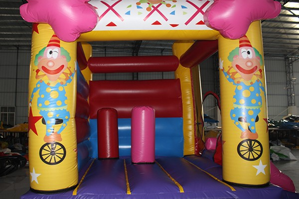 Inflatable bouncy house inflatable bouncy clown castle for kids play