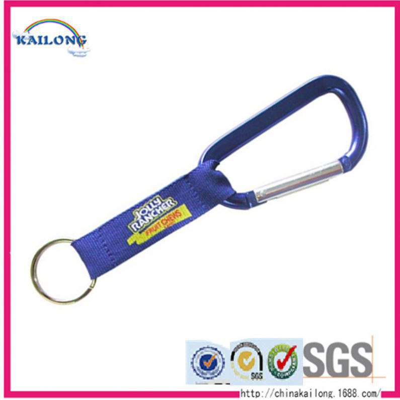 New Designed Metal J Locking Aluminum Swivel Snap Hook With Loop