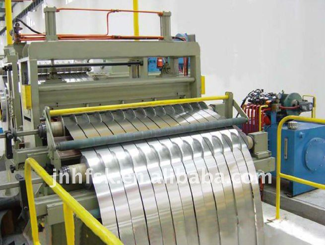 automatic steel coil slitting/ rewinding machine