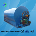 High oil output continuous waste tyre pyrolysis plant for sale