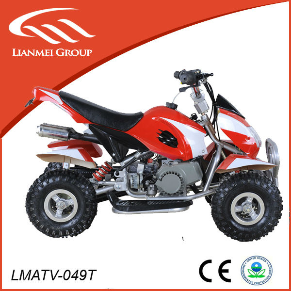 sports atv for kids with 49cc engine cheap for sale made in zhejiang