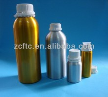 aluminum essential oil bottle, aluminum bottle for olive oil, aluminum bottle with temper ring cap