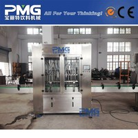 PMG linear type olive oil bottling machine / filling equipment / plant