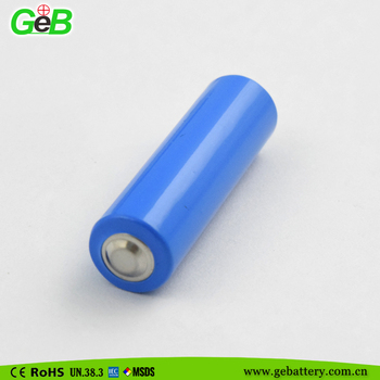 3.6v Li/SOCl2 lithium battery cylindrical AA 14505 2400mah with high quality
