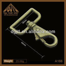 self electroplated shop high quality bronze snap hook