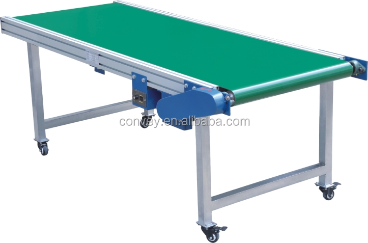 NEW design exported mobile belt conveyor/PVC small conveyor belt