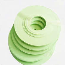 green and colorful PVC plastic edge banding tape for furniture accessories
