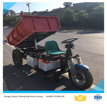 Adult electric tricycle three wheel motor cycle mini dumper truck for cargo