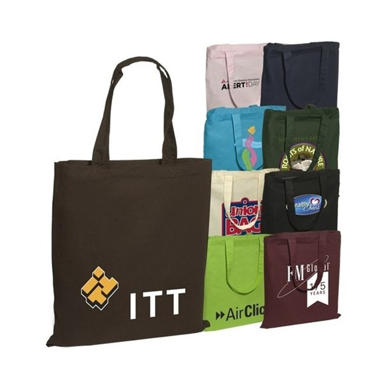 Recycle Cotton Foldable Shopping Bags Eco Reusable Folding Bag