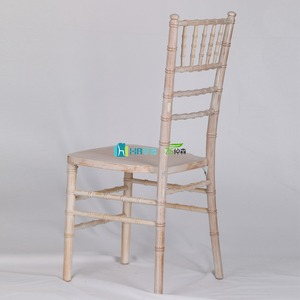antique limewash wood chiavari tiffany chair for sale