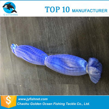 Chinese custom recycle nylon industrial braided fish net for sale