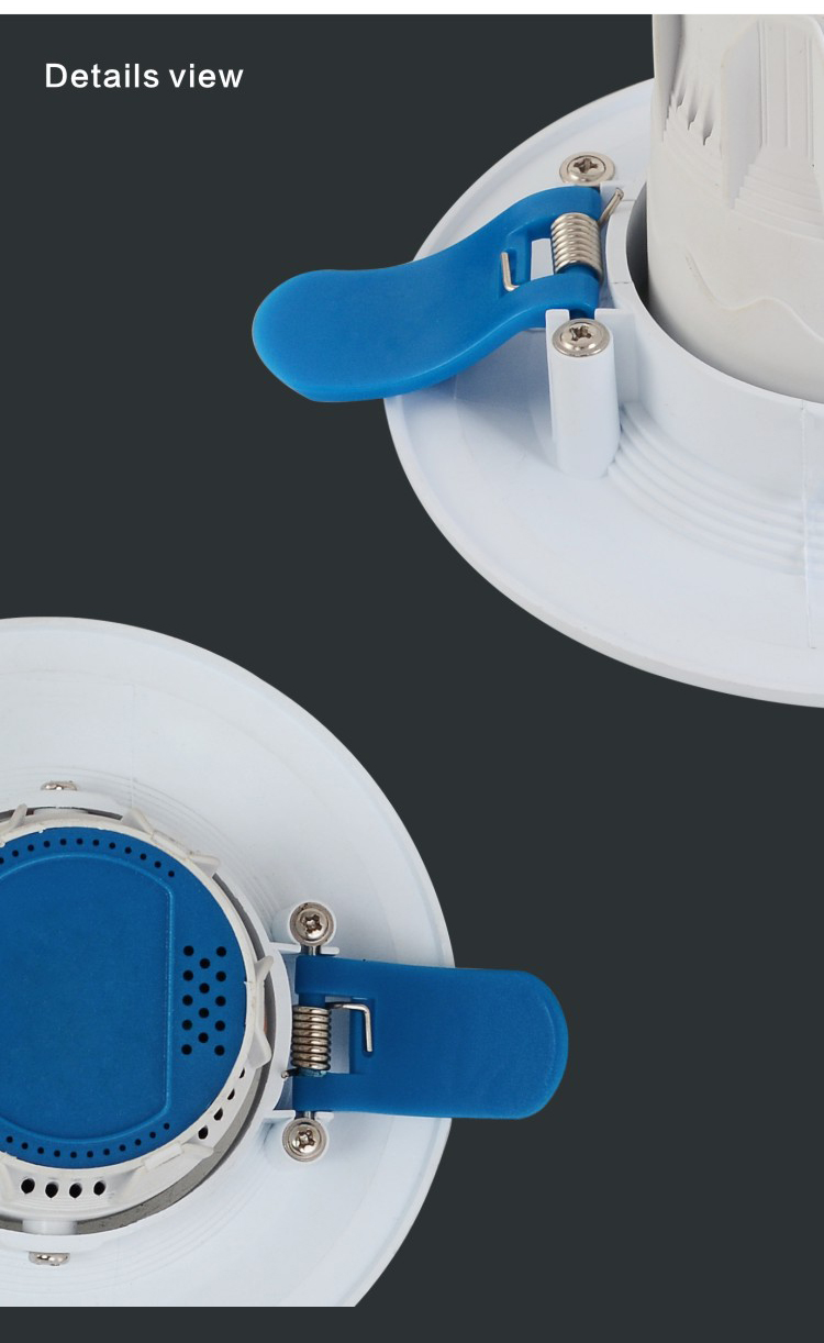 Supermarket lighting COB Round Dimmable surface mounted Recessed 5w 7w 9w 12w LED Downlight