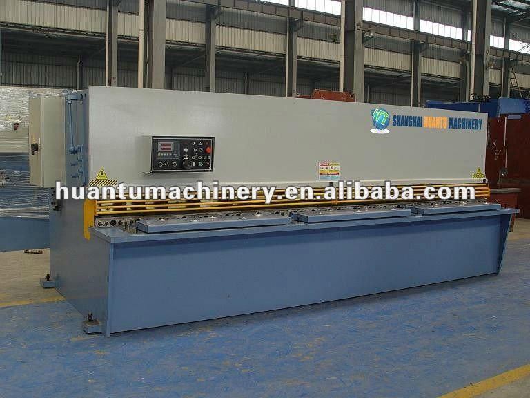QC11Y hydraulic guillotine plastic cutter, back gauge controller, hand sheet metal machinery