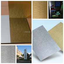 Wall decoration material /Signage/Billboard/Door ACP aluminium composite panel manufacturer in China