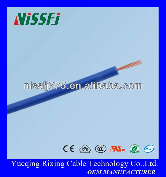 UL1430 18 awg XLPVC insulated wire for internal wiring of appliances