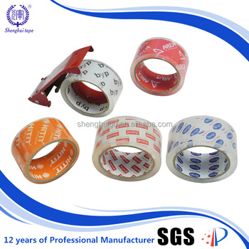 water based acylic Adhesive Packaging Crystal BOPP Tape