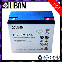 12V 24Ah Electric Bicycle Battery