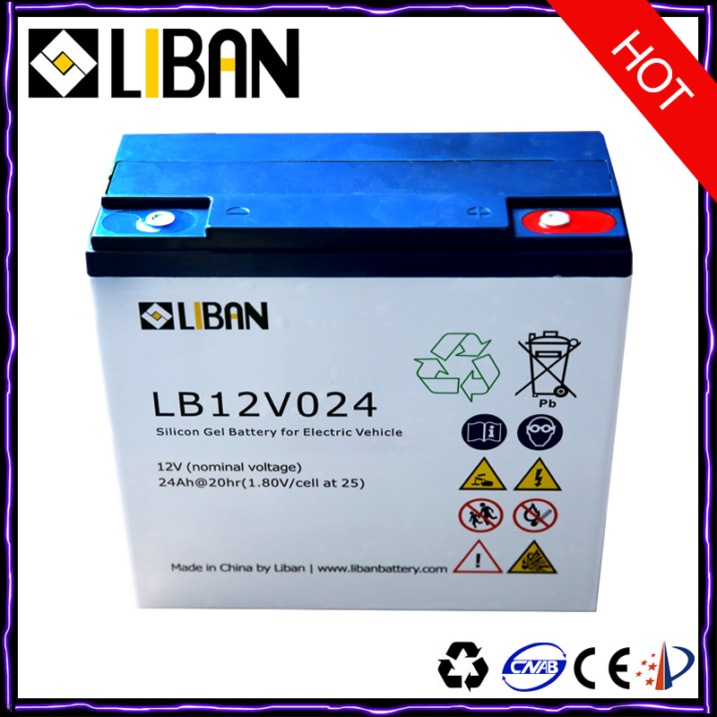 12V 24Ah Electric Bicycle Lead Acid Battery